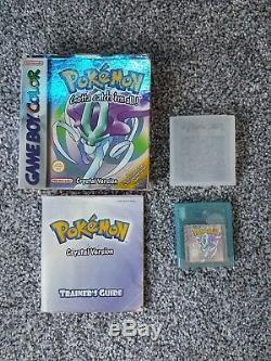 Pokemon Crystal Version Game Boy Color (boxed) Uk