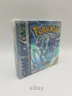 Pokemon Crystal Version Game Boy Scellé Couleur Rare Jamais Boîte Menthe Gameboy