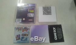 Pokemon Crystal Version Game Game Couleur Game Boxed (comme Neuf)