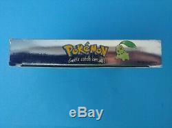 Pokemon Crystal Version (nintendo Game Boy Color) Complète En Boîte - Nouvelle Batterie