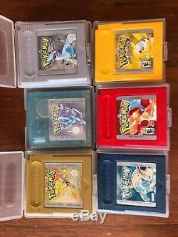 Pokemon Gameboy Jeux Set Couleur