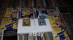 Pokemon Gold + Silver (nintendo Game Boy Color) Lot Complet De Deux En Boîte
