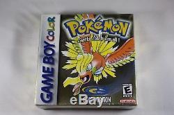 Pokemon Gold (nintendo Game Boy Color Gbc) Nouvelle Usine Scellée Près De La Menthe