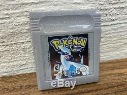 Pokémon Or & Argent Complète Cib Nintendo Gameboy Color