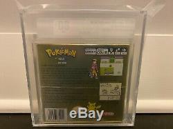 Pokemon Or Nintendo Gameboy Nib Sealed Vga Graded 80+ Game Boy Color