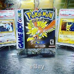 Pokemon Or Version Nouveau Rare Sealed Gameboy Color Game Boy Nm Ho-oh