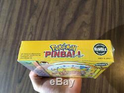 Pokemon Pinball (nintendo Game Boy Color) Tout Neuf - Scellé En Usine