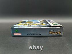 Pokemon Silberne Edition Mint Gameboy Couleur Nintendo Pal Ovp Cib Boxed Rar Top