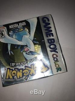 Pokemon Silver Game Boy Color Gbc Cib Scellé Nouveau S'il Vous Plaît Lire