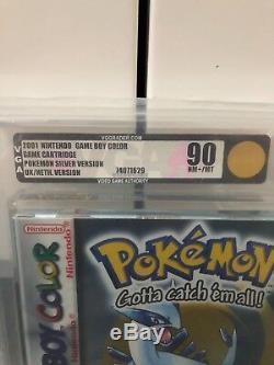 Pokemon Silver Gameboy Color Jeux Nintendo Vga Classés Par Couleur