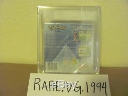 Pokemon Silver Version (nintendo Game Boy Color, 2000) Nouveau Scellé Vga 85 Rare