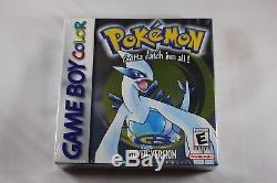Pokemon Silver (nintendo Game Boy Couleur Gbc) Nouveau Usine Scellée Près De La Menthe