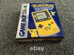 Pokemon Special Edition Nintendo Gameboy Couleur. Boîte. Belle Condition