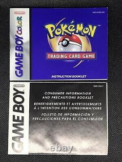 Pokemon Trading Card Game Pour Gameboy Color Complete In Box Avec Sealed Meowth