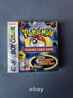 Pokemon Trading Card Gameboy Color Red Strip Scellé Flambant Neuf