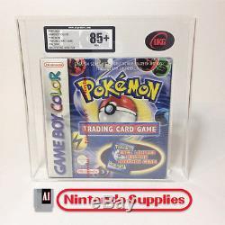 Pokemon Trading Game Gameboy Couleur Pal Rare Scellé Ukg / Vga Graded 85+