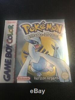 Pokémon Version Argent Game Boy Couleur Neuf Sous Blister Version Fr