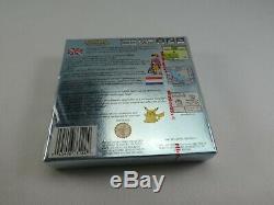Pokémon Version Argent Nintendo Game Boy Color Nouvelle Et Scellée Véritable