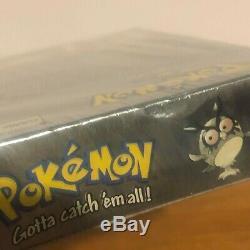 Pokemon Version Argent Nintendo Gameboy Color 2000