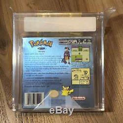 Pokemon Version Argent Nouveau Rare Sealed Gameboy Color Game Boy Vga Graded 80 Nm
