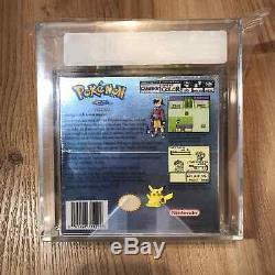 Pokemon Version Argent Nouveau Rare Sealed Gameboy Color Game Boy Vga Graded 80+ Nm