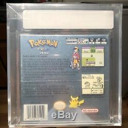 Pokemon Version Argent Nouveau Rare Sealed Gameboy Game Boy Color Vga Graded 85 Nm +