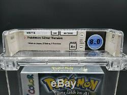 Pokémon Version Argent (game Boy Color, 2000) Gbc Wata Graded 8,0 A + Sealed