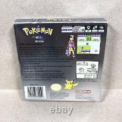 Pokemon Version Argent (game Boy Color) Original Près Complet Dans Une Boîte Avec Guide
