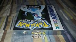 Pokemon Version Argent (nintendo Game Boy Color) Marque Nouvelle Usine Sealed