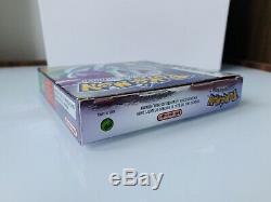 Pokémon Version Cristal Game Boy Color Mint Vf