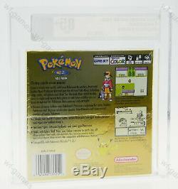 Pokemon Version Or Nintendo Gameboy Color Gbc New Sealed Graded Vga 85+