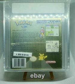 Pokémon Version Or Sealed New Game Boy Color Vga Graded 80+ Near Mint Psa