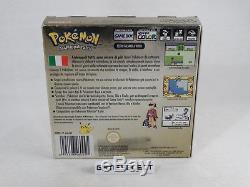 Pokémon Version Oro Nintendo Game Boy GB Couleur Gbc Pal Ita Italiano Completo