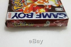 Pokemon Version Rouge (game Boy, 1998) Gameboy Color Brand New Scellé En Usine Nib