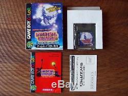 Rare! Magical Chase / Game Boy Color GB Gbc Cib Complet Avec Boîte Et Manuel