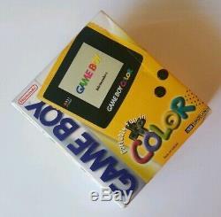 Rare! Scellé! Système De Poche Nintendo Game Boy Color Pissenlit Nouveau