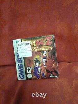 Rare Sealed Dragon Ball Z Legendary Super Warriors Nintendo Game Boy Color Cadeau