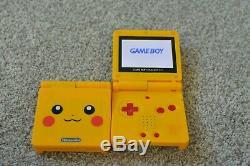 Remis À Neuf Nintendo Gameboy Advance Sp Ags-101 Choisissez Votre Couleur Brighter