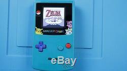 Rétro-éclairage Game Boy Color! Console De Jeu Gameway À Cristaux Liquides Midwest Telle Que Mcwil