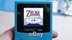 Rétro-éclairage Game Boy Color! Mcwill - Lentille En Verre Pour Console De Jeu Gameboy Couleur LCD