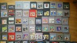 Sammlung Gameboy Gameboy Couleur Gameboy Advance Spiele 286 Stück Plus 3 Konsolen