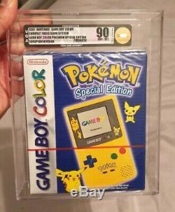 Scellé En Usine Vga 90 Graded Spéciale Pokemon Édition Game Boy Color Pal Uk