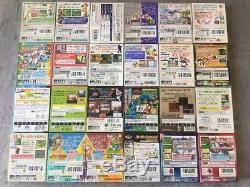 Set De 100 Jeux Gameboy Color Jap. En Excellent État! Très Bonne Condition