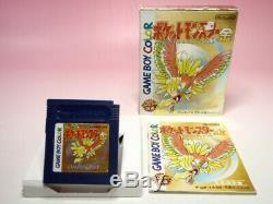 Set Gameboy Color Pokemon 10games Set GB Gbc Or Argent Cristal Bleu Rouge GB Jp
