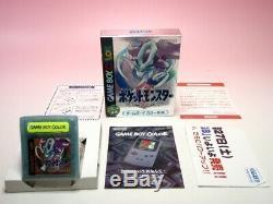 Set Gameboy Color Pokemon 8games Set GB Gbc Or Argent Cristal Bleu Rouge GB Jp