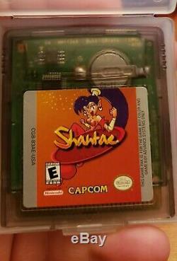Shantae 2002, Gameboy Color Gbc, Authentique, Testé, Bon État