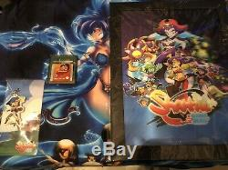 Shantae (gameboy Color) + Charme + Affiche Holographique 3d + Chemise