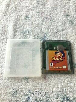 Shantae (nintendo Game Boy Color, Gbc) 100% Authentic Cart Uniquement Testé, Sauve