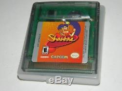 Shantae (nintendo Game Boy Couleur) Authentique Gbc