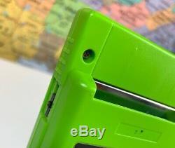 Ships Same Day Système Portable Avec Kiwi (vert Lime) Nintendo Game Boy Color Avec Boîte